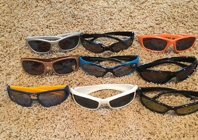 Young Boys Sunglasses Lot Of 9 Pk, Many Different Designs