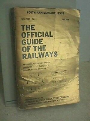 Official Guide Of The Railways 100th Anniversary Issue 1968