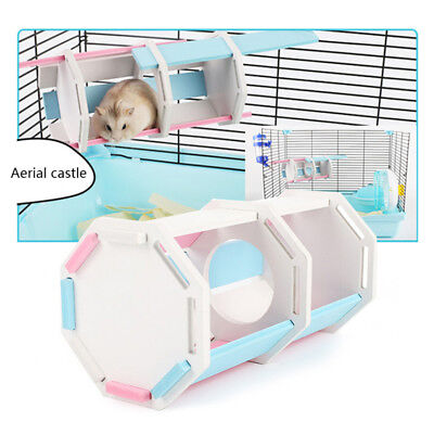 Wooden House Cage Nest Toys for Small Animal Pet Hamster Mouse Rat Guinea Pig