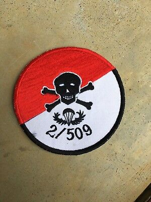 US Army 2nd Battalion, 509th Airborne Recon patch