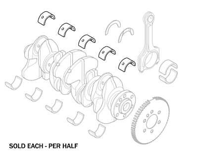 Mini R55 R56 R57 R58 R60 Cooper Countryman Paceman S Main Crankshaft