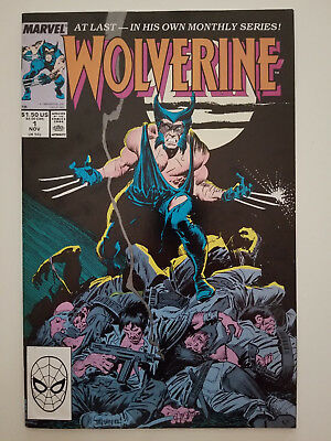 Wolverine #1 1988  1st Wolverine Continuing Series. Beautiful Book.
