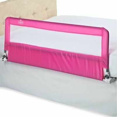 Regalo Pink Extra Long Hideaway Bed Rail Twin to Queen Size  54 x 20 inches