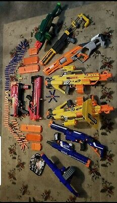 Huge Nerf Gun Dart Toy Lot