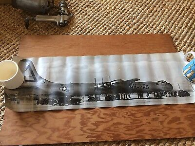 c1950s original photograph B-36A Peacemaker BM-025 - not quite a yard long