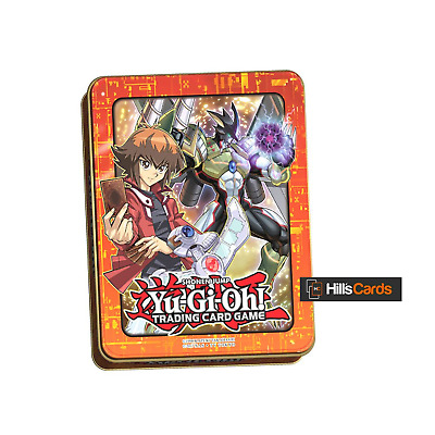 Yu-Gi-Oh Mega Tin 2018 Jaden Yuki: Inc 3x 16 Card Booster Packs - New & Sealed
