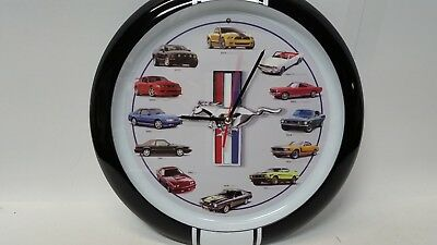 Ford Mustang History Wall Clock