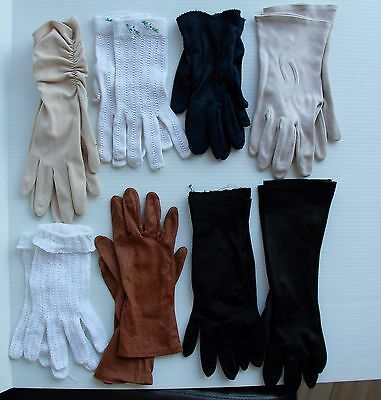 Vintage Womens Gloves Lot -> Evening Wear to Casual
