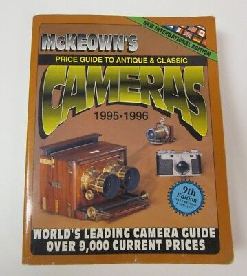 McKeown's Price Guide to Antique and Classic Cameras 1995-1996 9th Edition Used