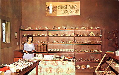 Ghost Mountain Park Mining mine Town Rock Shop Maggie Valley NC  spooks