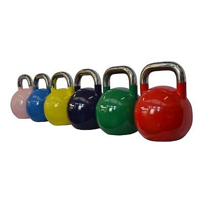 NEW Competition Kettlebell 8KG - 32KG Fitness Strength Training By MO REPS