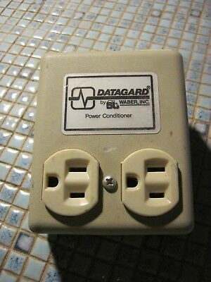 Datagard Line Monitor Power Conditioner Model Dg115-P Electronics