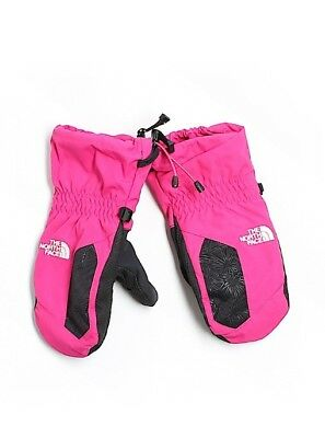 Girls The North Face Hot Pink Hyvent Mittens Sz Large