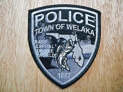 Florida - Welaka Police Patch CURRENT ISSUE SUBDUED WITH PMT DECAL