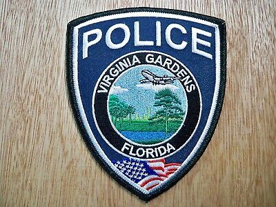Florida - Virginia Gardens Police Patch PREVIOUS ISSUE WITH PMT DECAL
