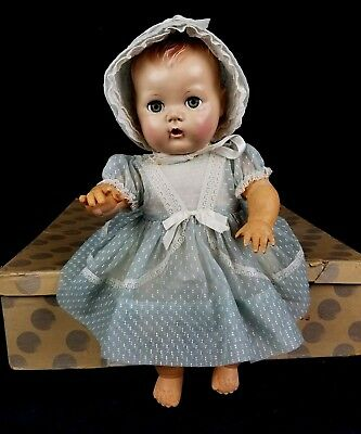 Vintage 1950's American Character Toodles Potty Baby Doll & Original Box HTF!!