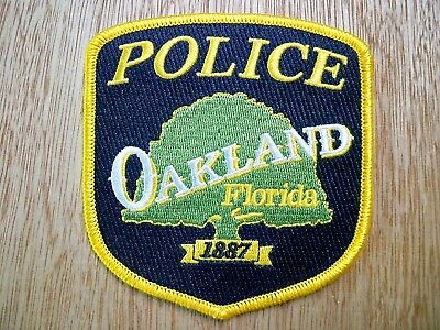 Florida - Oakland Police Patch CURRENT ISSUE