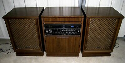 Vintage Technics SS-2900D 4-Channel Stereo System. 2 Speakers.