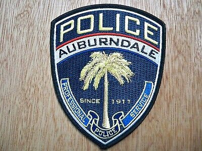 Florida - Auburndale Police Patch CURRENT ISSUE WITH SA DECAL