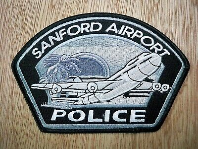 Florida - Sanford Airport Police Patch CURRENT ISSUE SUBDUED