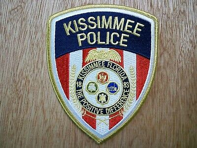 Florida - Kissimmee Police Patch CURRENT ISSUE