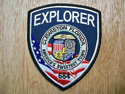 Florida - Clewiston Police Patch CURRENT ISSUE EXPLORER
