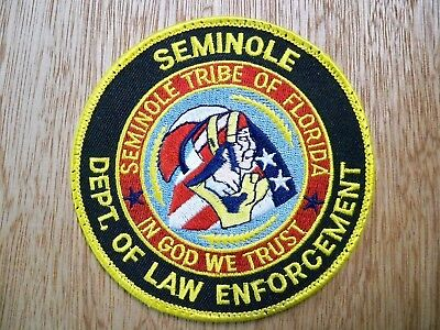 Florida - Seminole Police Patch PREVIOUS ISSUE DEPT OF LAW ENFORCEMENT