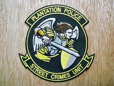 Florida - Plantation Police Patch CURRENT ISSUE STREET CRIMES UNIT