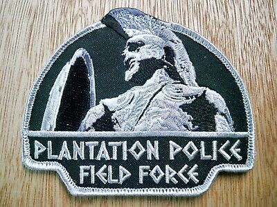 Florida - Plantation Police Patch CURRENT ISSUE FIELD FORCE WITH VELCRO