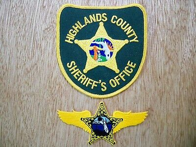 Florida - Highlands Sheriff Police Patch CURRENT ISSUE AVIATION UNIT