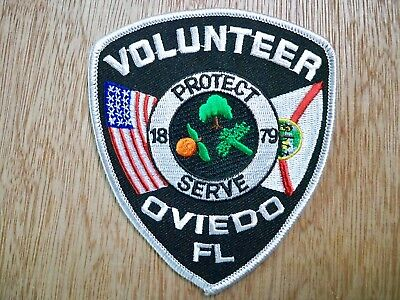 Florida - Oviedo Police Patch CURRENT ISSUE VOLUNTEER
