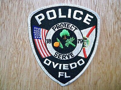 Florida - Oviedo Police Patch CURRENT ISSUE