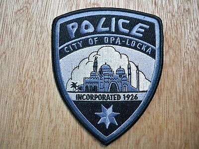 Florida - Opa-Locka Police Patch CURRENT ISSUE SUBDUED