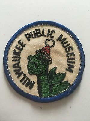 Milwaukee Public Museum Vintage Patch Used