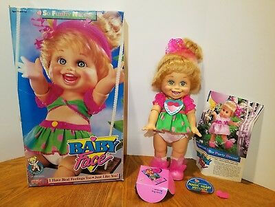 Galoob Baby Face So Funny Natalie With Box Excellent Condition Complete