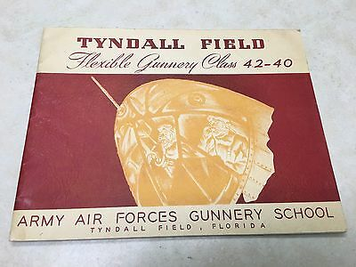 WW2 1942 US Military Tyndall Field Class Yearbook 42-40