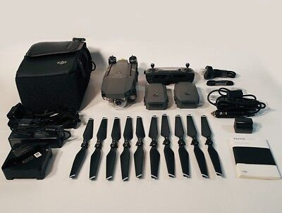 DJI Mavic Pro Fly More Combo + Low Noise Propeller + Free Accessories Combo