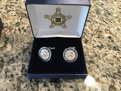 United States Secret Service Uniform Division Dress Cufflinks - USSS