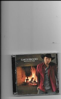 "Garth  Brooks, Cd ""midnight Fire"" & ""the Covers"" New But Not Sealed"