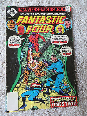 1977 Marvel Comics-Fantastic Four-#187