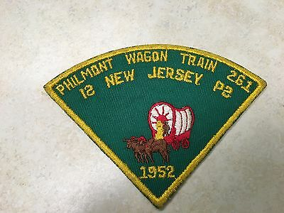1952 New Jersey Philmont Contingent Patch