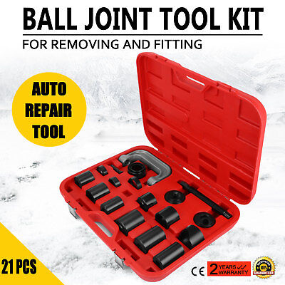 21PCS Ball Joint Adapter Set Remover Installing Tool Kit fersh Basic wide