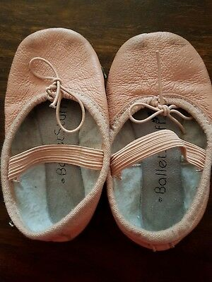 Pink leather Ballet Shoes Size 6