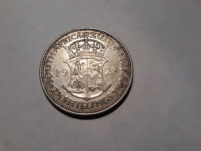 South Africa. 2 and a half (2.5) Shillings. Fine (my opinion). Free T Post
