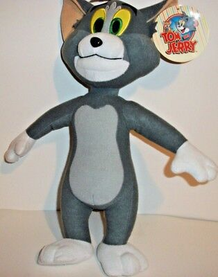 """Toy Factory TOM AND JERRY 14"""" Stuffed Animal Plush NEW"""