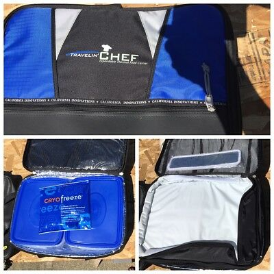 Travelin' CHEF Expandable Thermal Food Carrier