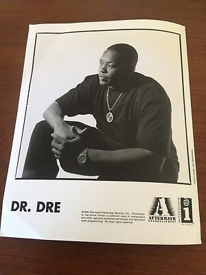 DR  DRE AFTERMATH Entertainment and Interscope Records Original Press Photo