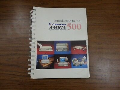 Introduction to the Commodore AMIGA 500 manual