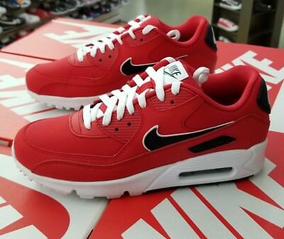 outlet store 91c41 730c9 Nike Air Max 90 Essential Men University Red   Blackened Blue Aj1285 601