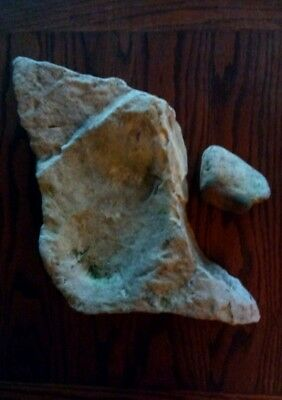 Native American Indian Grinding Stone Effigy Metate Mortar Mano Tool Artifact **